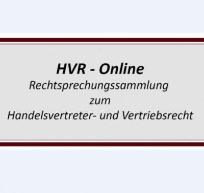 Logo zur HVR Online Datenbank - Art.Nr. 600